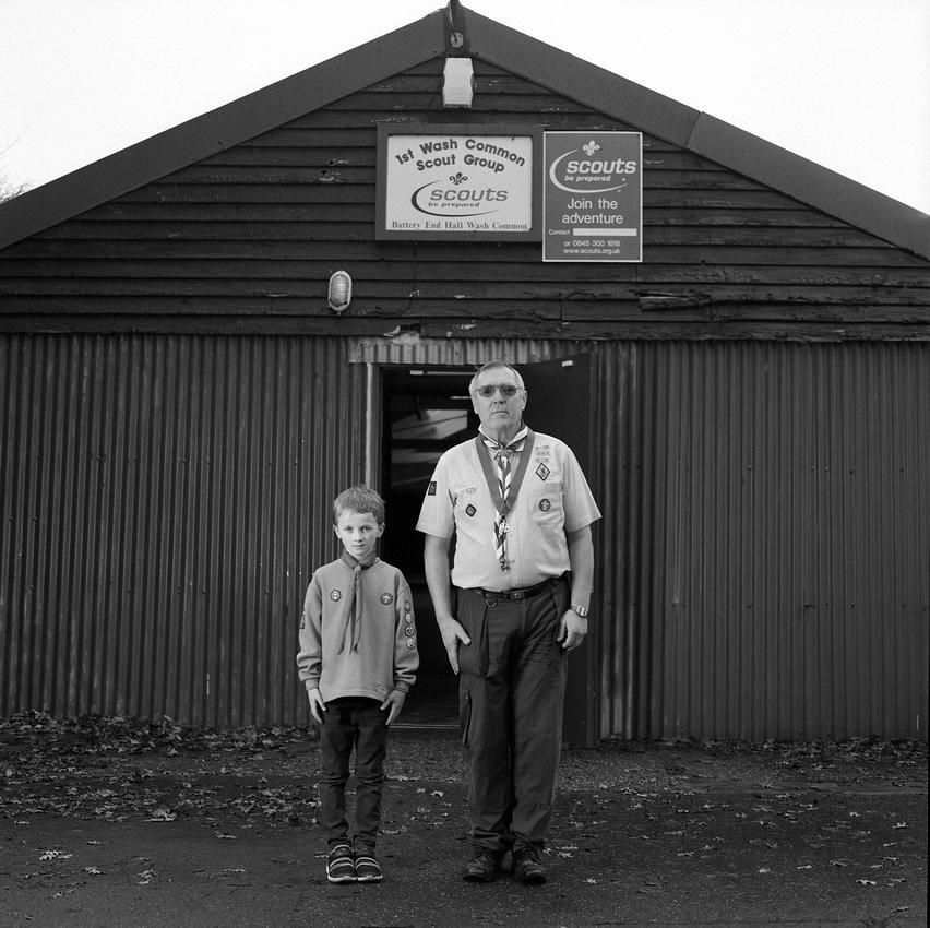 Eugine and Oliver!st Falkland Scouts