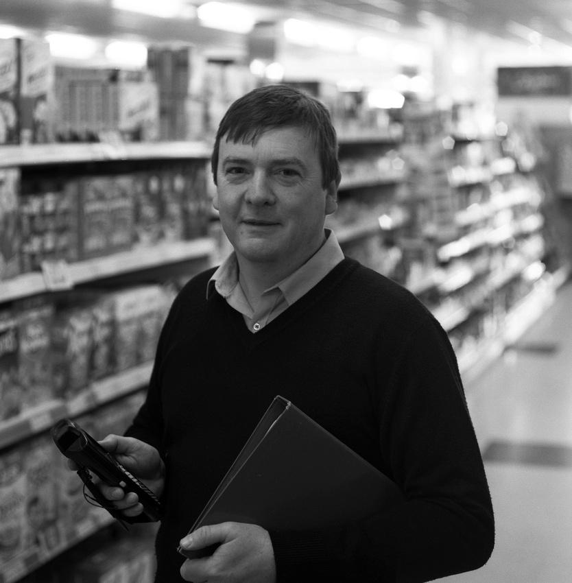 Mike Estela. Owner Budgens Supermarket