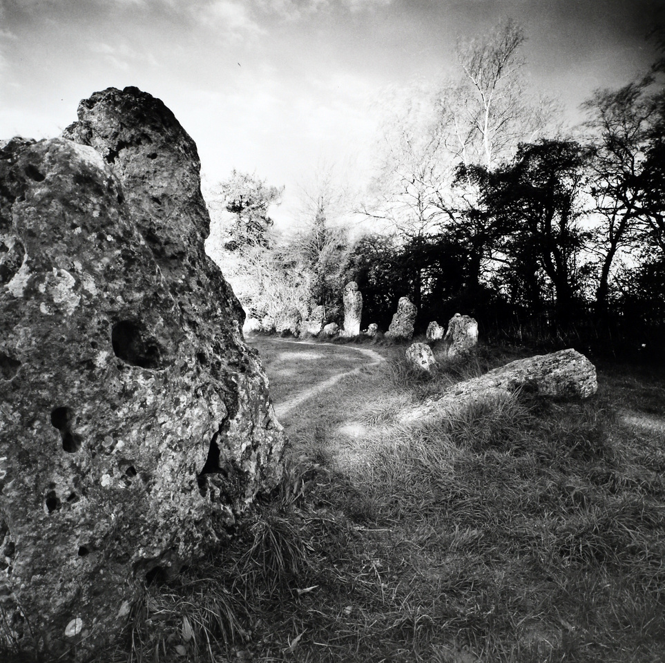 At The Rollright Stones
