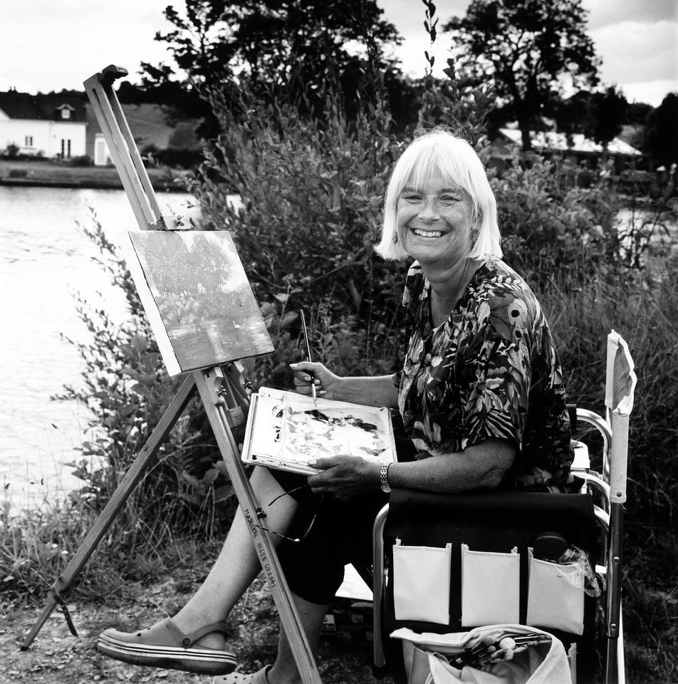 Amy,landscape painter