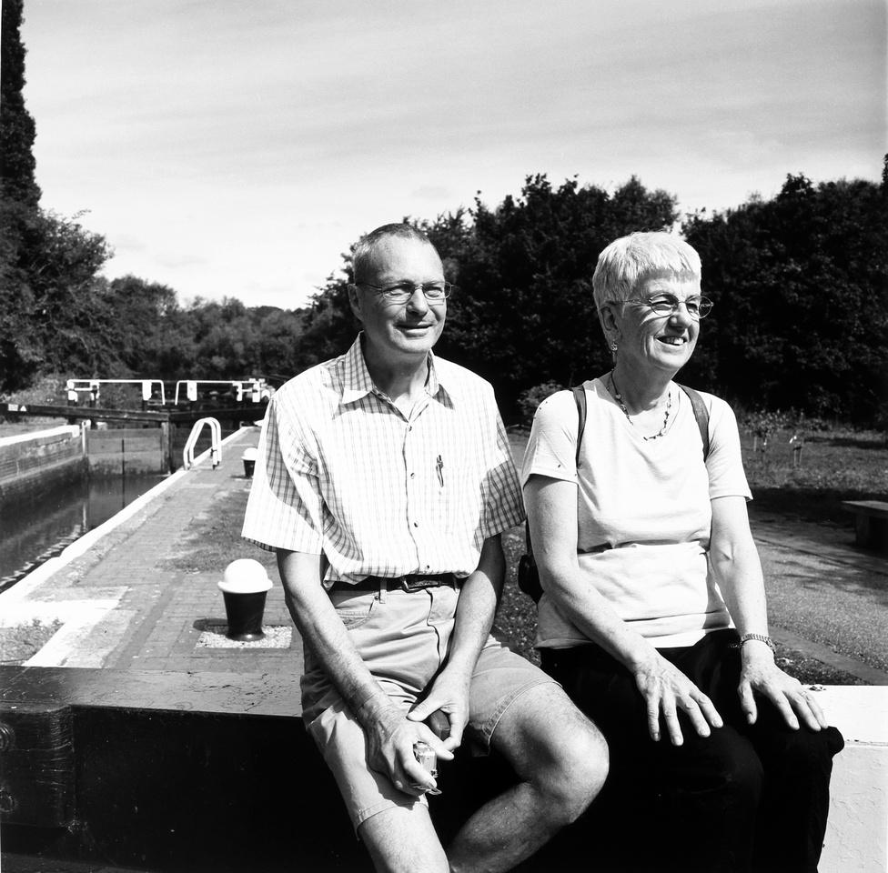 Gary and Beth, tourists