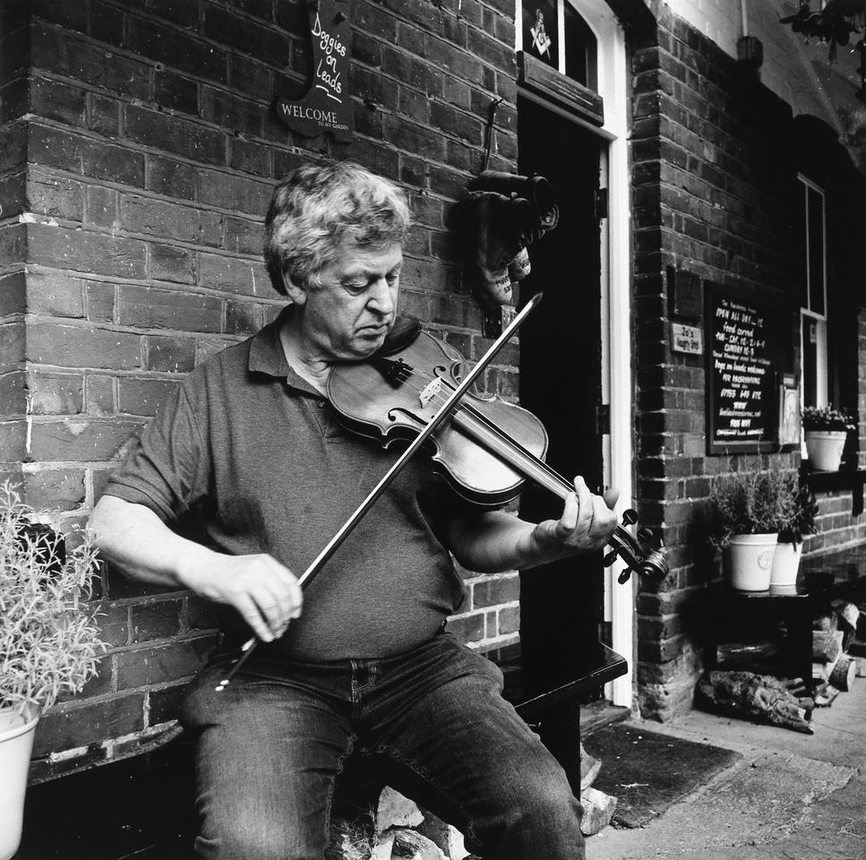 Hilary,violin maker