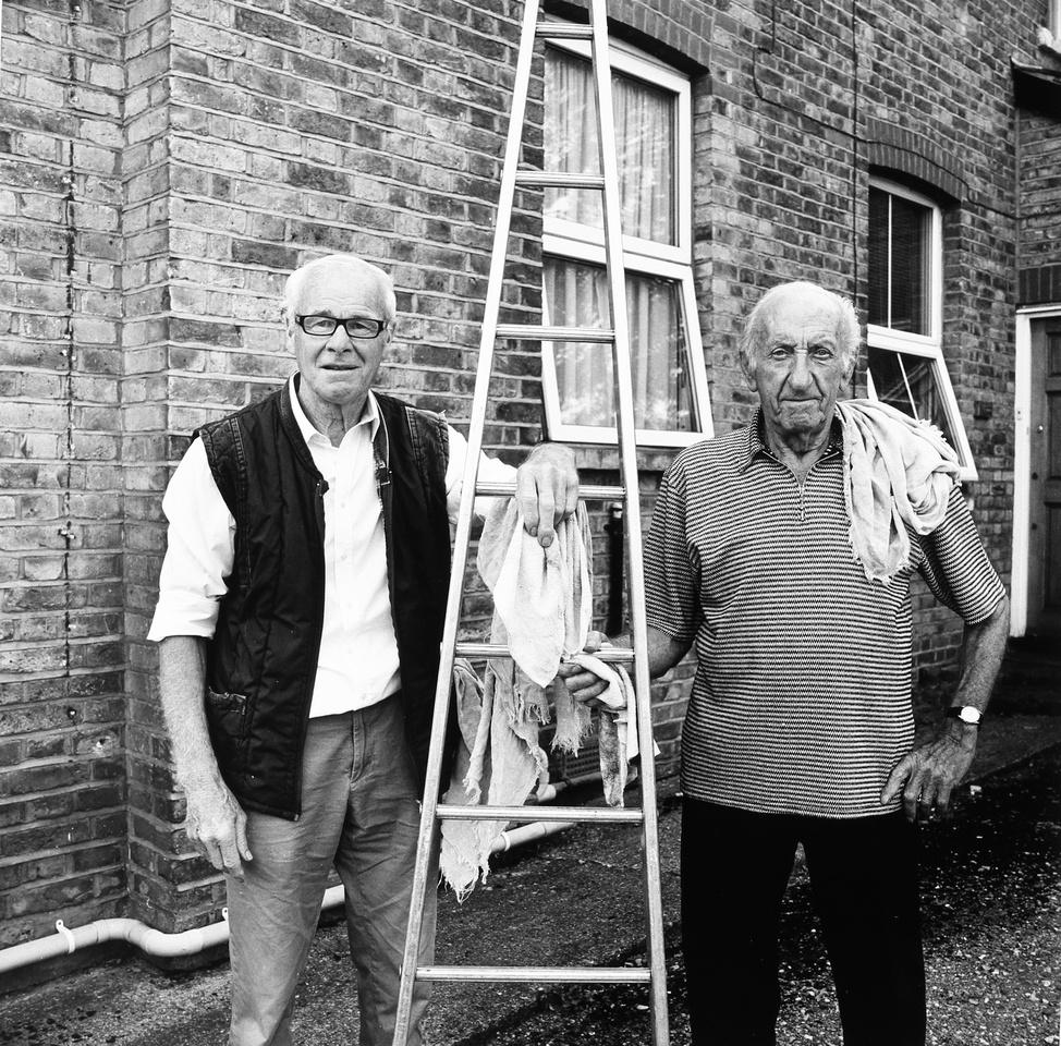 Tony and John,window cleaners
